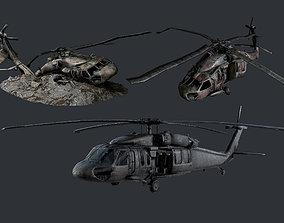 3D asset Sikorsky UH60 Black Hawk Military 5