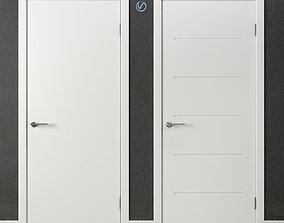 Conteporary Doors Academy Next 3D model