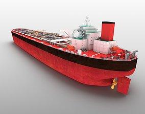 3D Huashan VLCC tanker oil cargo watercraft class