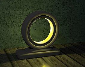 desktop lamp 3D print model