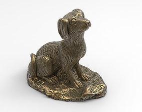 3D print model Statue Dog