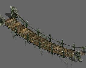 Shushan - suspension bridge 3D model