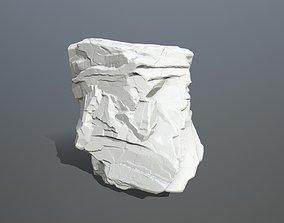 recycling 3D printable model Rock Print