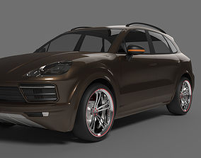 3D model Porsche Cayenne 2018 luxury