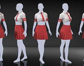 3D model Marvelous Designer Clothes - 10 Female Casual 1