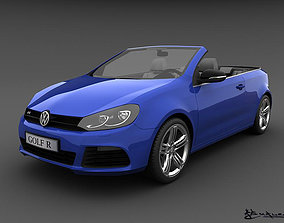 3D Volkswagen Golf R Cabriolet 2014
