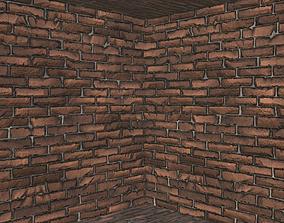3D model 5 Tileable Brick Wall type B Texture