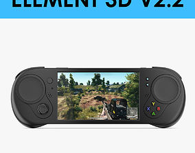 E3D - Gamepad Controller and Screen