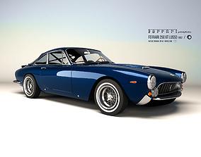 3D asset Ferrari 250 GT Lusso 1962