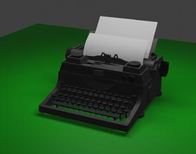 business Typewriter 3D model
