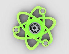 3D model Atomic spinner