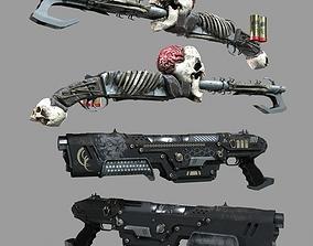 3D model Shotgun Set