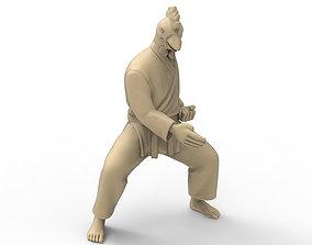 Chicken Chop 3D print model