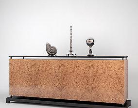 3D Fendi Madia Cabinet Royce