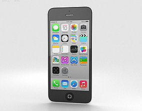 3D model Apple iPhone 5C White