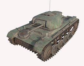 Abandoned tank 04 3D