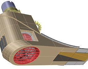 Veth Jet 360 thruster for Smit Bronco 3D printable model