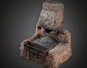 MVL - Blacksmith Forge - PBR Game Ready 3D asset