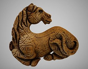 3D printable model Horse Carving