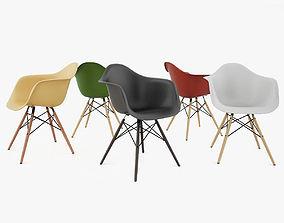 Vitra Eames Plastic DAW Armchair 3D model