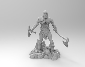 Kratos 3D printable model games-toys