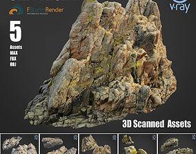 Cliff pack B bundle 3D
