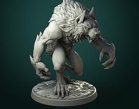 3D printable model Common Werewolf 2 variants