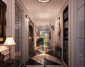 3D model Hallway gallery