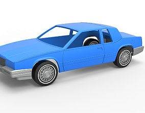 Diecast shell and wheels Cadillac 3D printable model 5