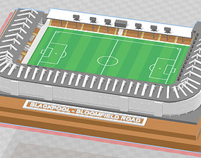 Blackpool FC - Bloomfield Road 3D printable model