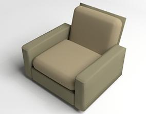 3D Sofa Single Seater 1