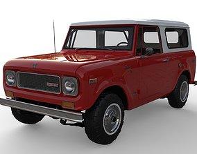 International Scout 800A 1970 3D model