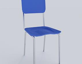 Metal Seat 3D asset