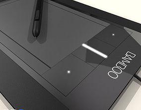 3D model Bamboo Pen and Tablet Wacom