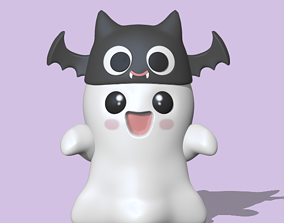 A Halloween - Ghost to decorate and 3D printable model