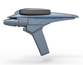 Phaser Type II from Star Trek III The Search 3D model 2