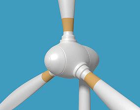 Wind Turbine V1 3D model