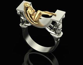 ring Daydream Ring 3D print model