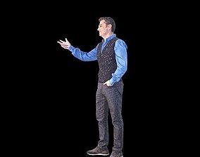 3D model No34 - Vest Guy