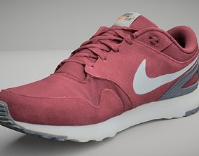 human-clothing low-poly Nike shoe low poly 3D model