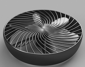 3D model Fan with cover