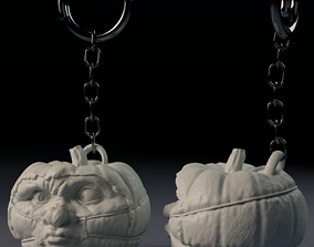 Halloween Pumpkin Covid-19 Nightmare - 3D printable model