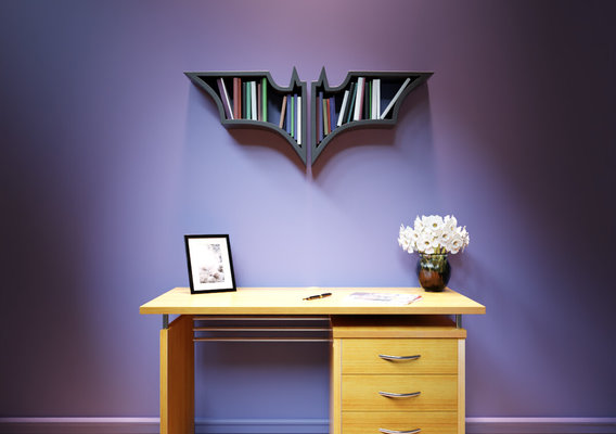 Recycled Furniture and Home decor concept- Book Shelf