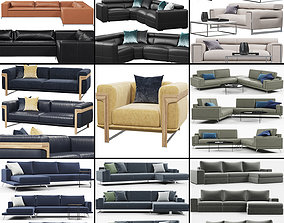 Sofas collection 1 3D model