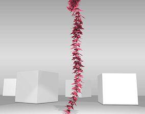3D model Wild Wine Vine - Parthenocissus - Autumn 2