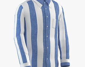 3D model Classic Striped Shirt