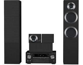 3D model Acoustic system Pioneer HTB-531-21TB