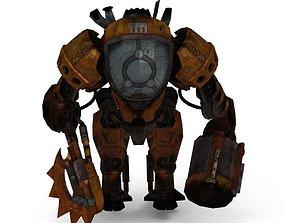 3D model steam Punk Robot