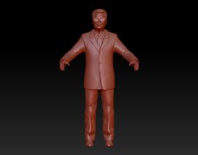 Full-body man 3D model