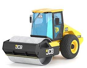 Compactor JCB VM117 3D model